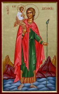 Άγιος Χριστόφορος ο Μεγαλομάρτυρας, St. Christopher the Martyr, Святого Христофора мученика